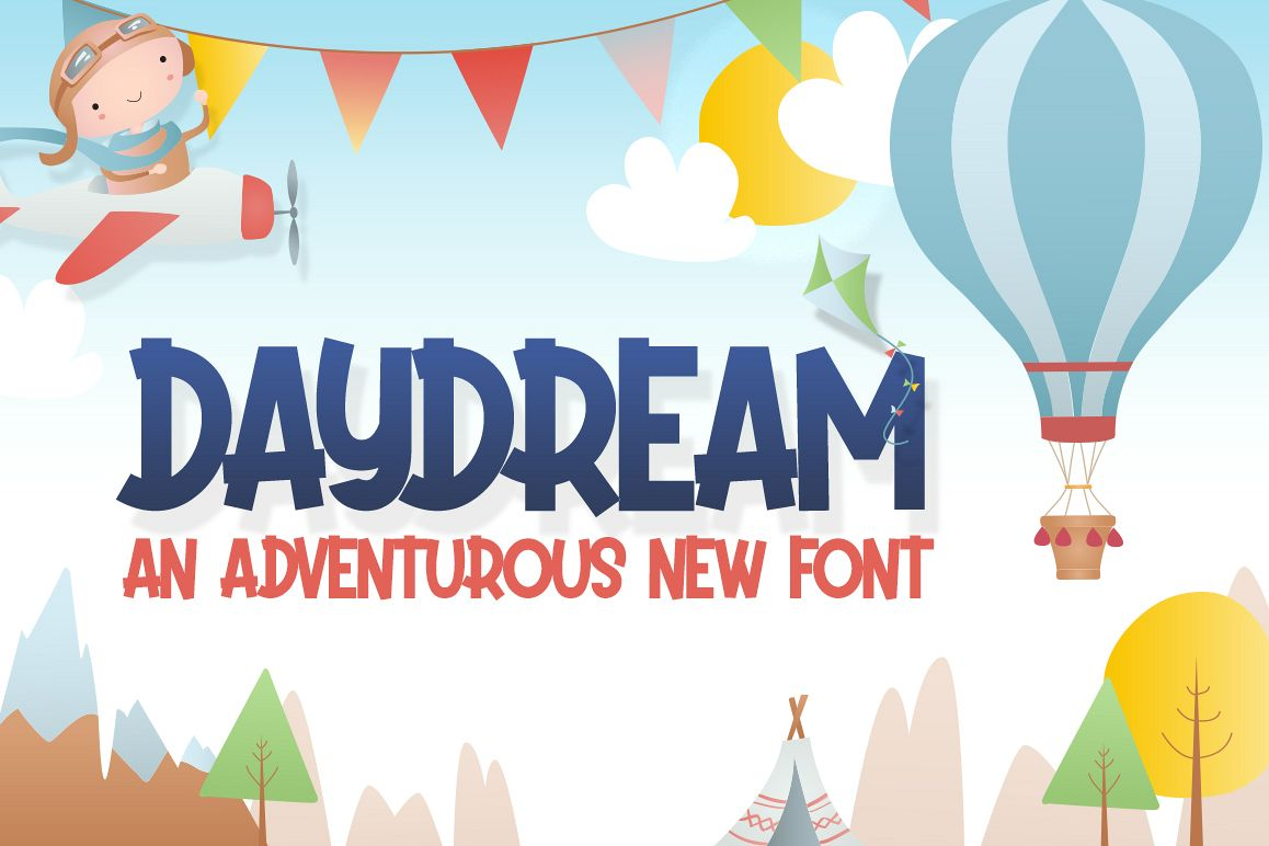 Daydream Kids Font example image 1