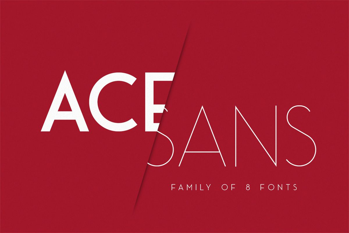 Ace Sans example image 1