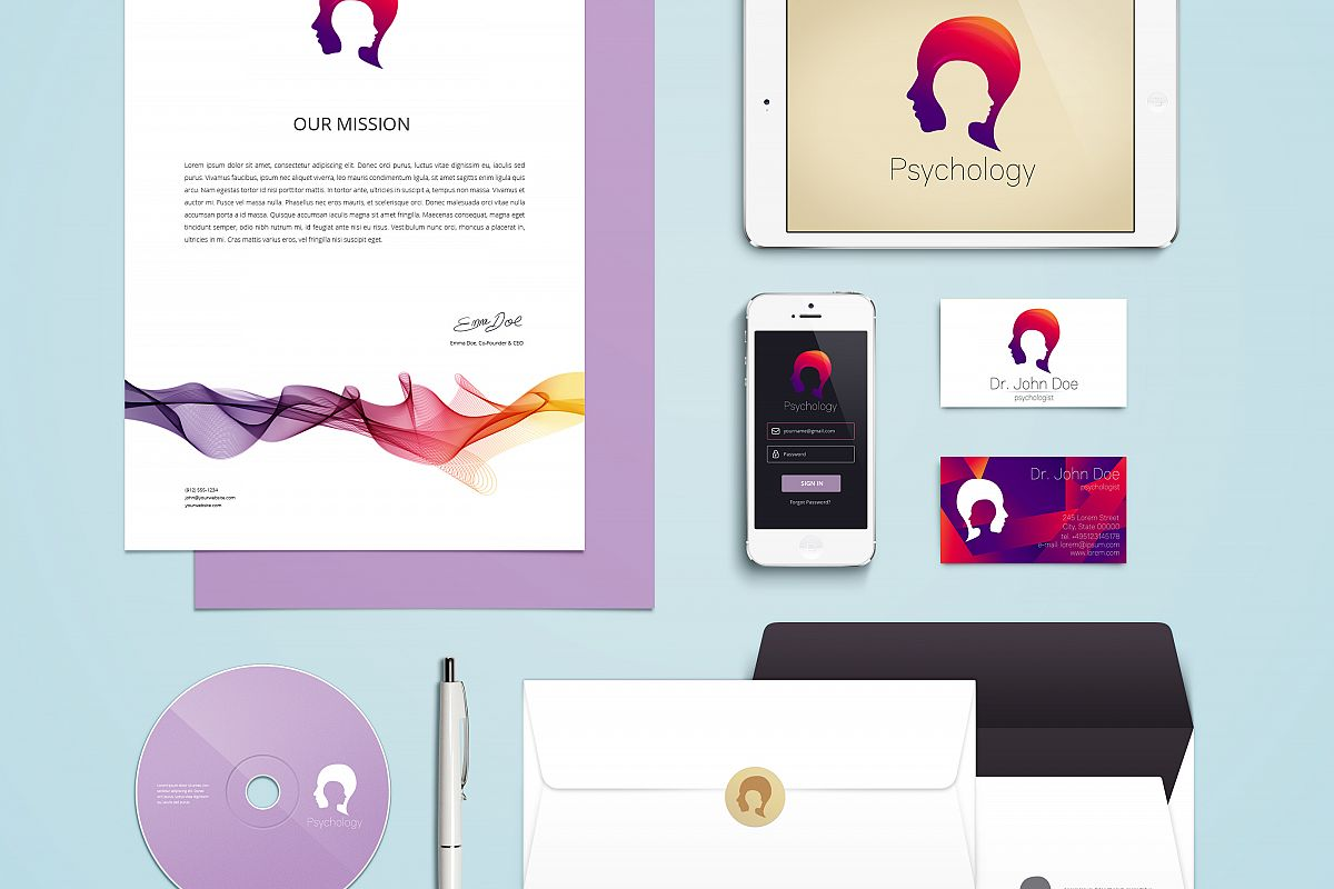 Branding Identity for Psychology  example image 1