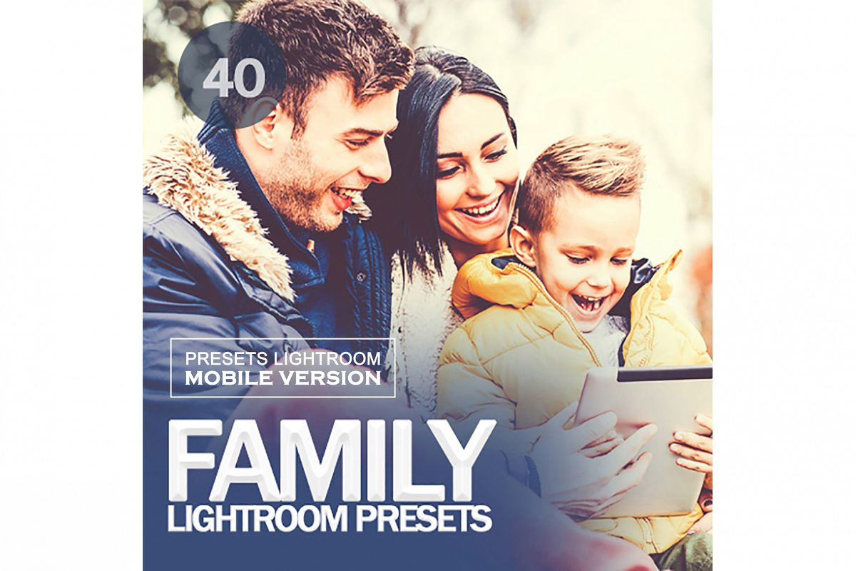Family Lightroom Mobile Presets example image 1