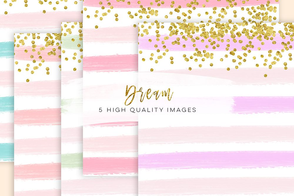 Digital Paper Watercolor Stripes, confetti Digital Watercolor Stripes,  school clipart scrapbook paper, digital paper modern glitter confetti