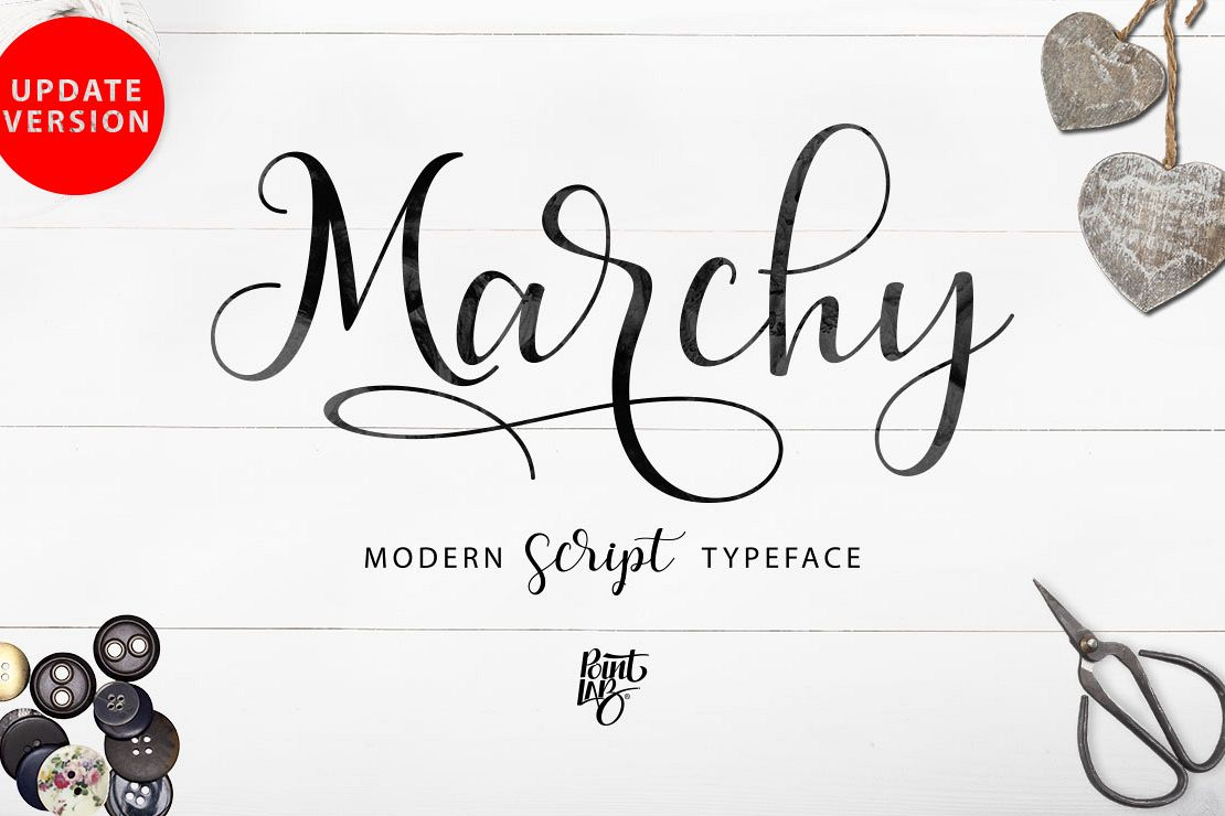 Marchy Script example image 1