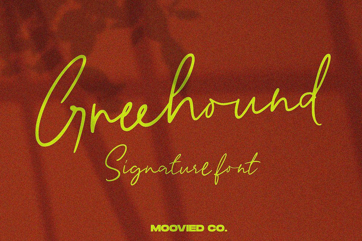 Greenhound Signature example image 1