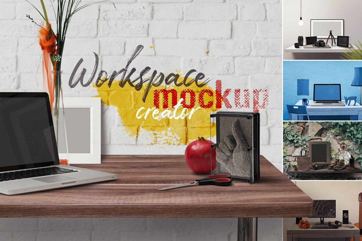 Workspace Mockup Creator example image 1