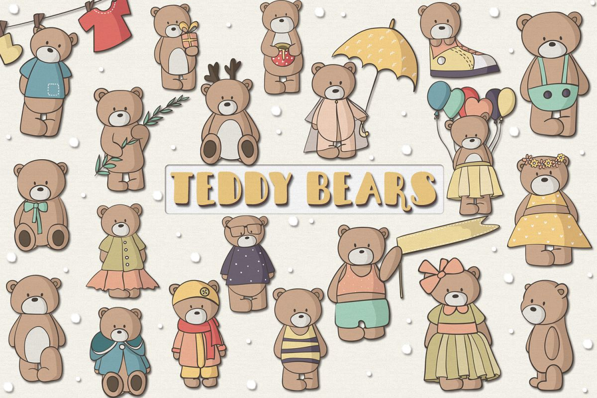 Teddy Bears example image 1