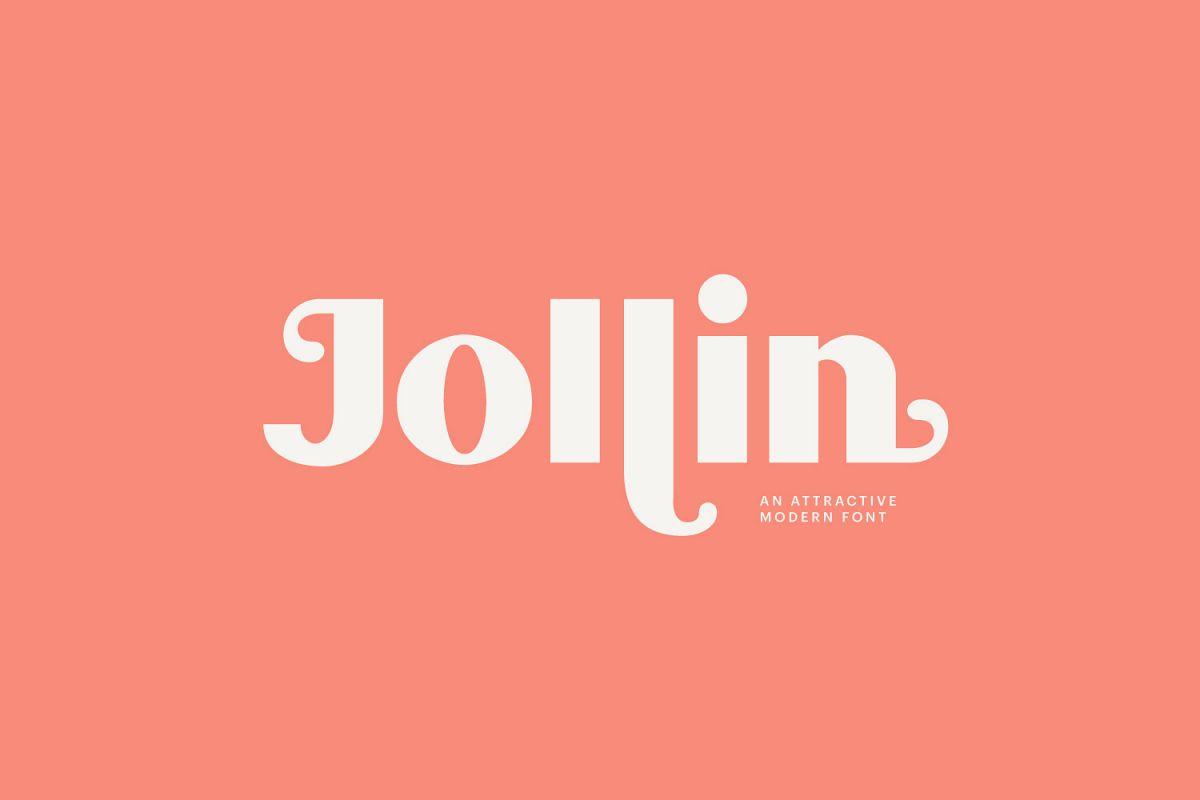 Jollin Font example image 1