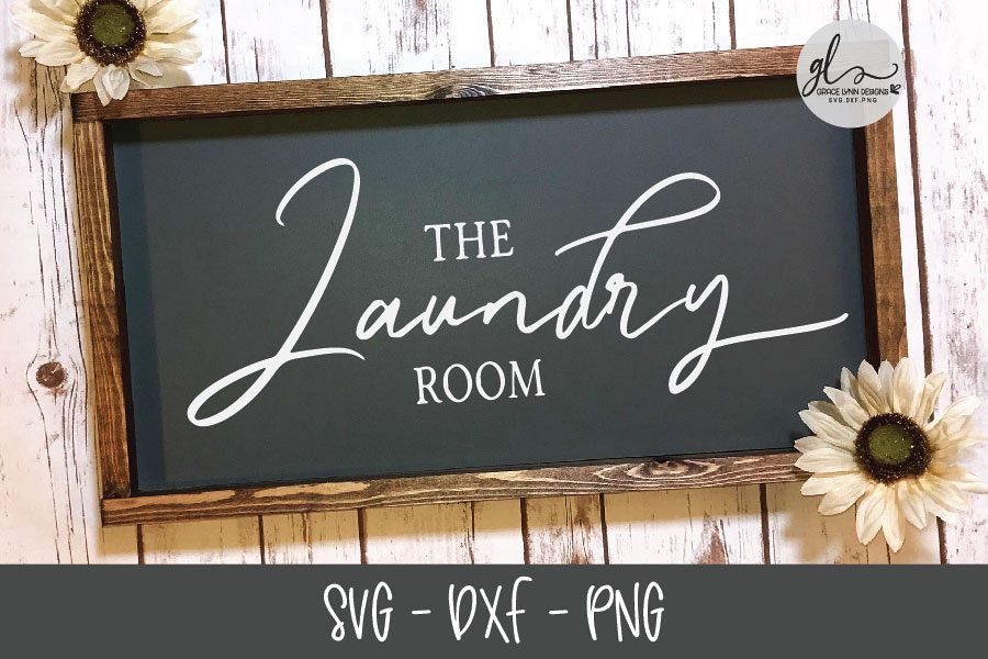 The Laundry Room - Laundry SVG Cut File example image 1
