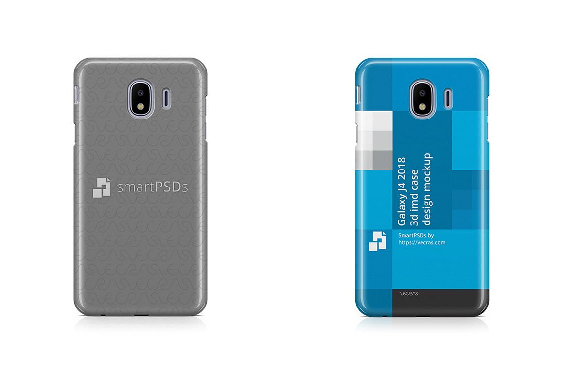wholesale dealer b2c81 e688c Samsung Galaxy J4 3d IMD Case Design Mockup 2018