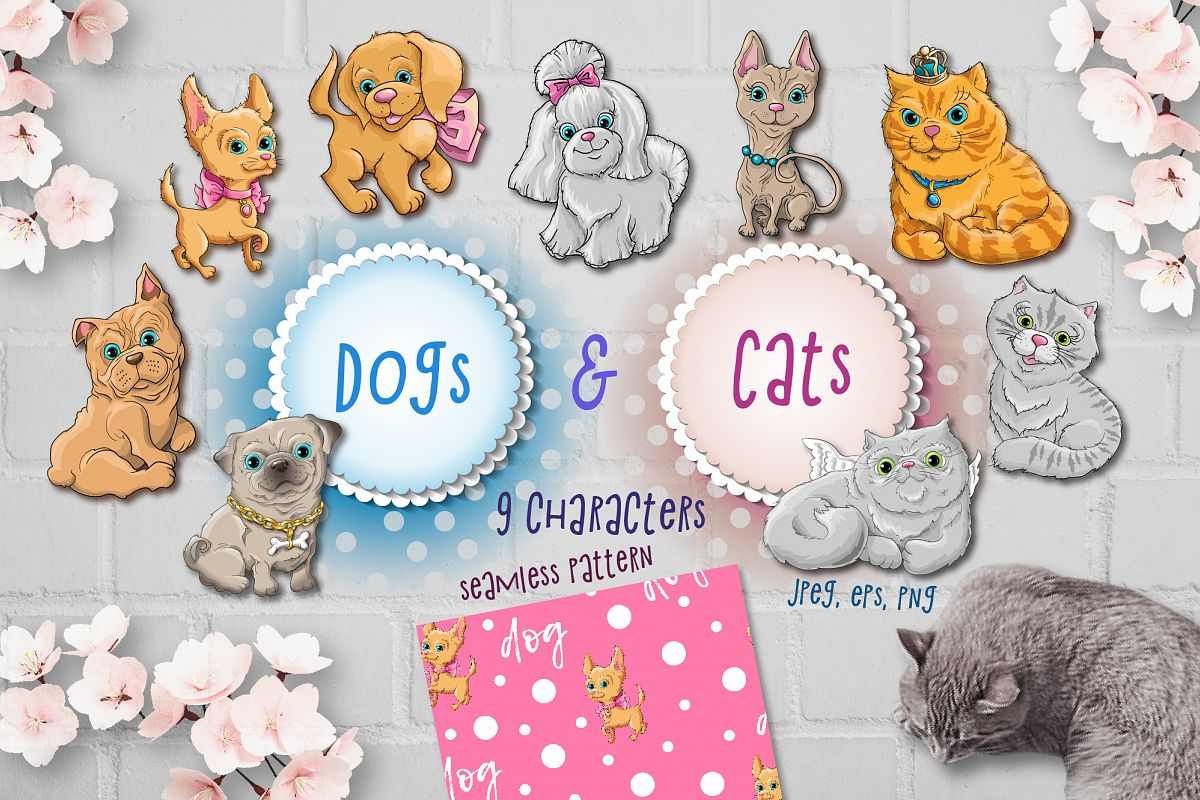 Dog & Cats example image 1
