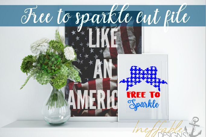 Free To Sparkle cut file / SVG example image 1