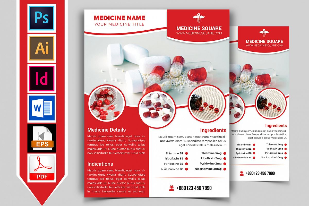Medicine Promotional Flyer Vol-03 example image 1