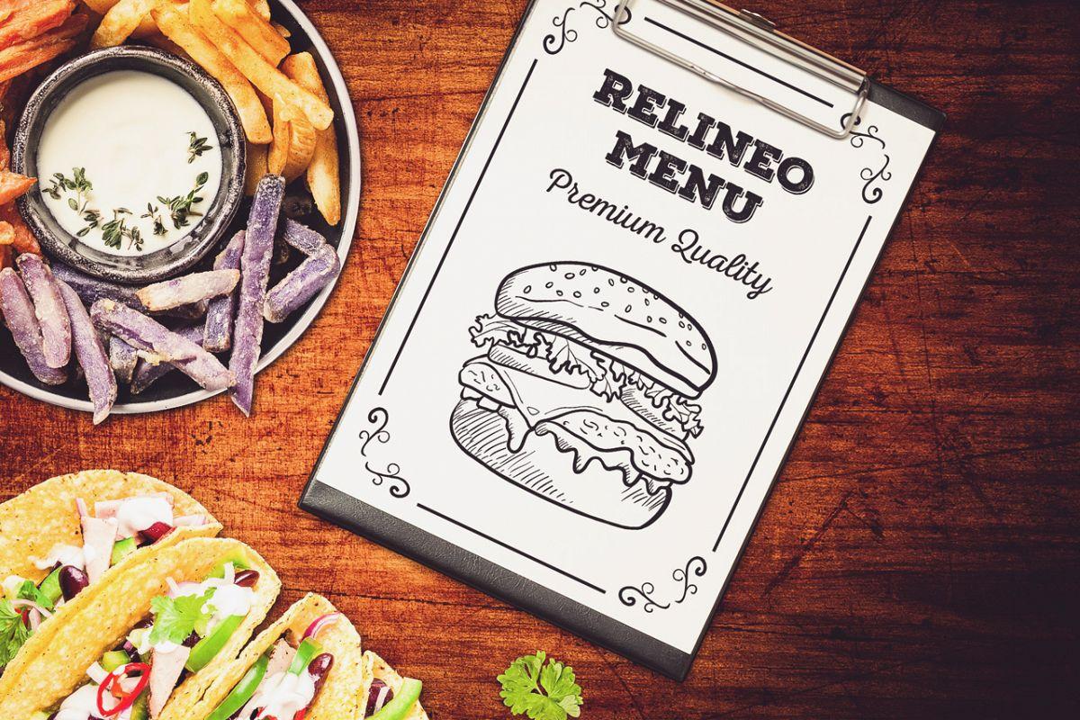 Fast Food Menu Mock-up #9 example image 1