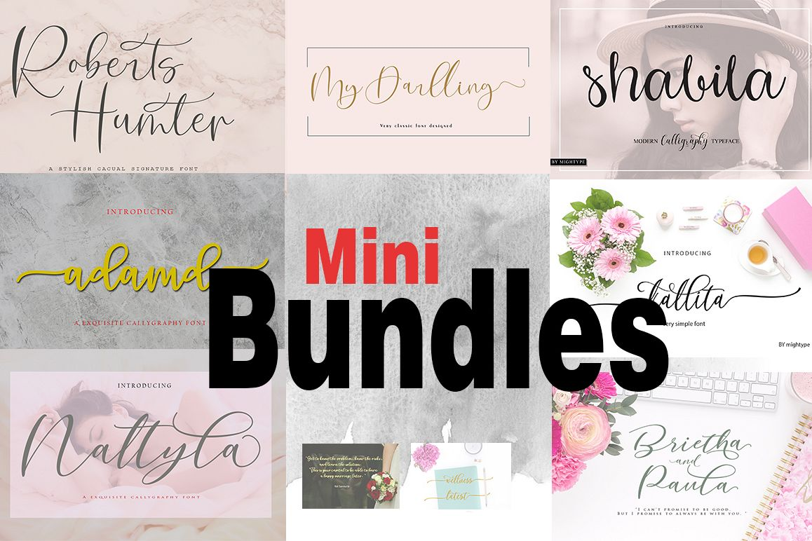 Mini Bundles example image 1