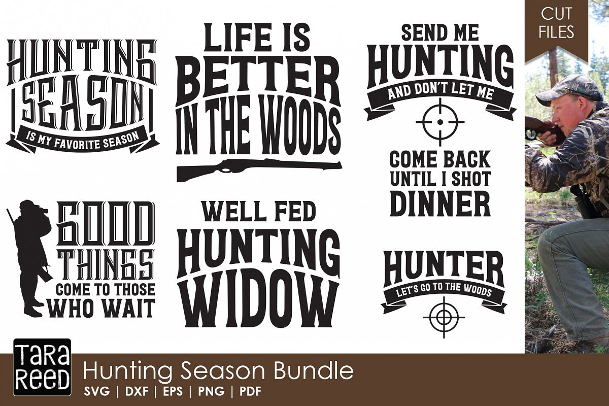 Hunting Season - Hunting SVG and Cut Files for Crafters example image 1