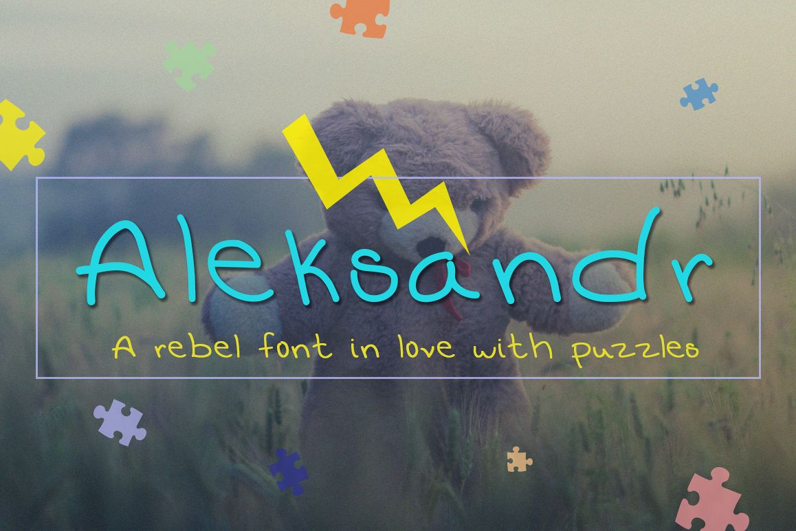 Aleksandr – Clean and Rebel Font example image 1