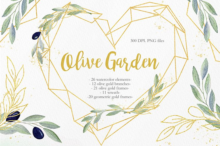 Olive Garden Clipart Collection example image 1