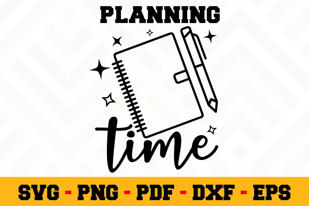 Planning SVG Design n496   Planning SVG Planner File example image 1