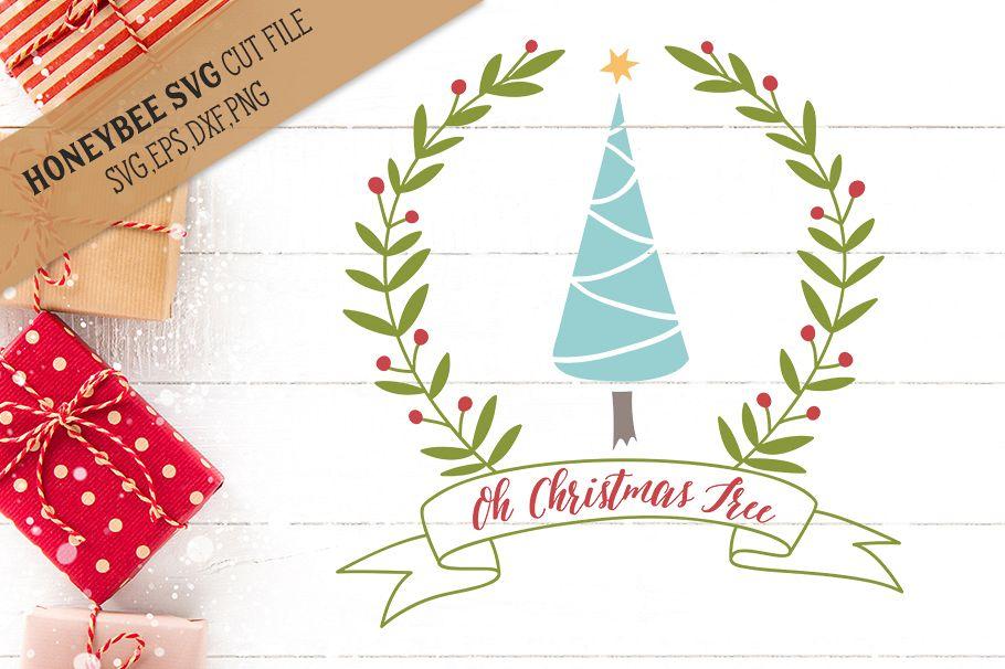 Oh Christmas Tree svg example image 1