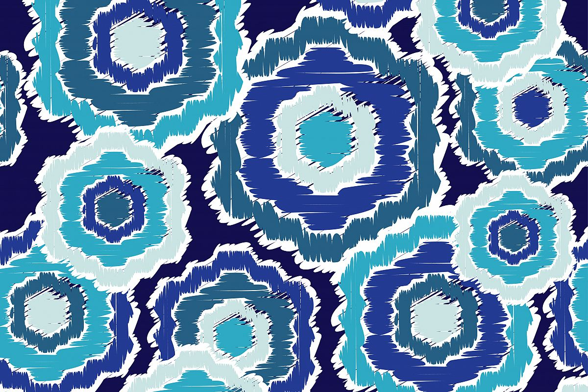 Ethnic boho seamless pattern. Retro motif. Vector illustration.  example image 1