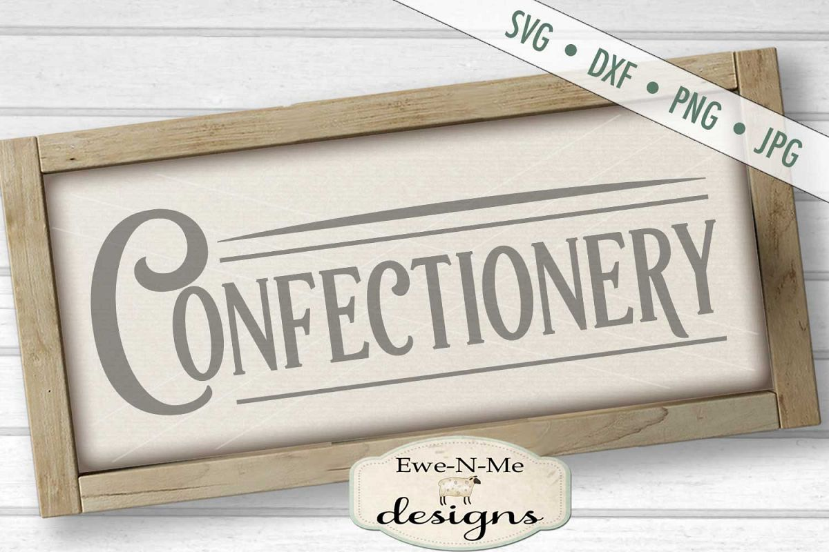 Confectionery - Bakery Kitchen - SVG DXF File example image 1