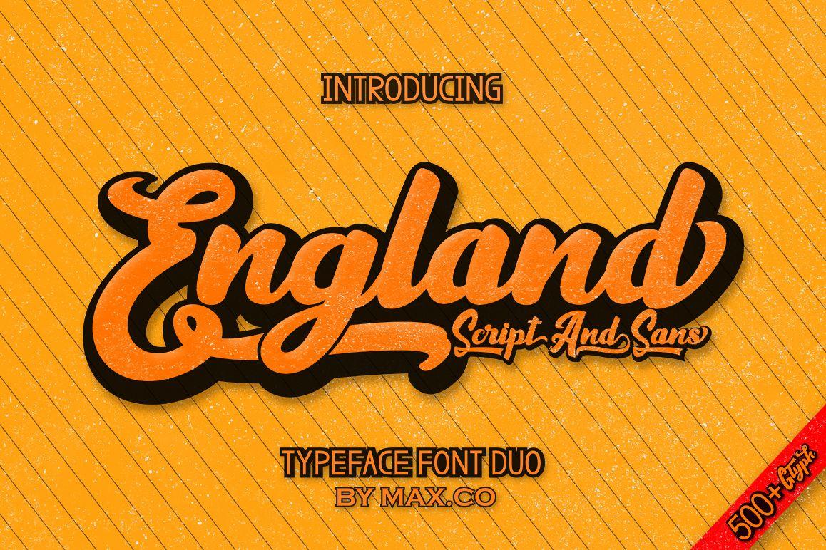England Script example image 1
