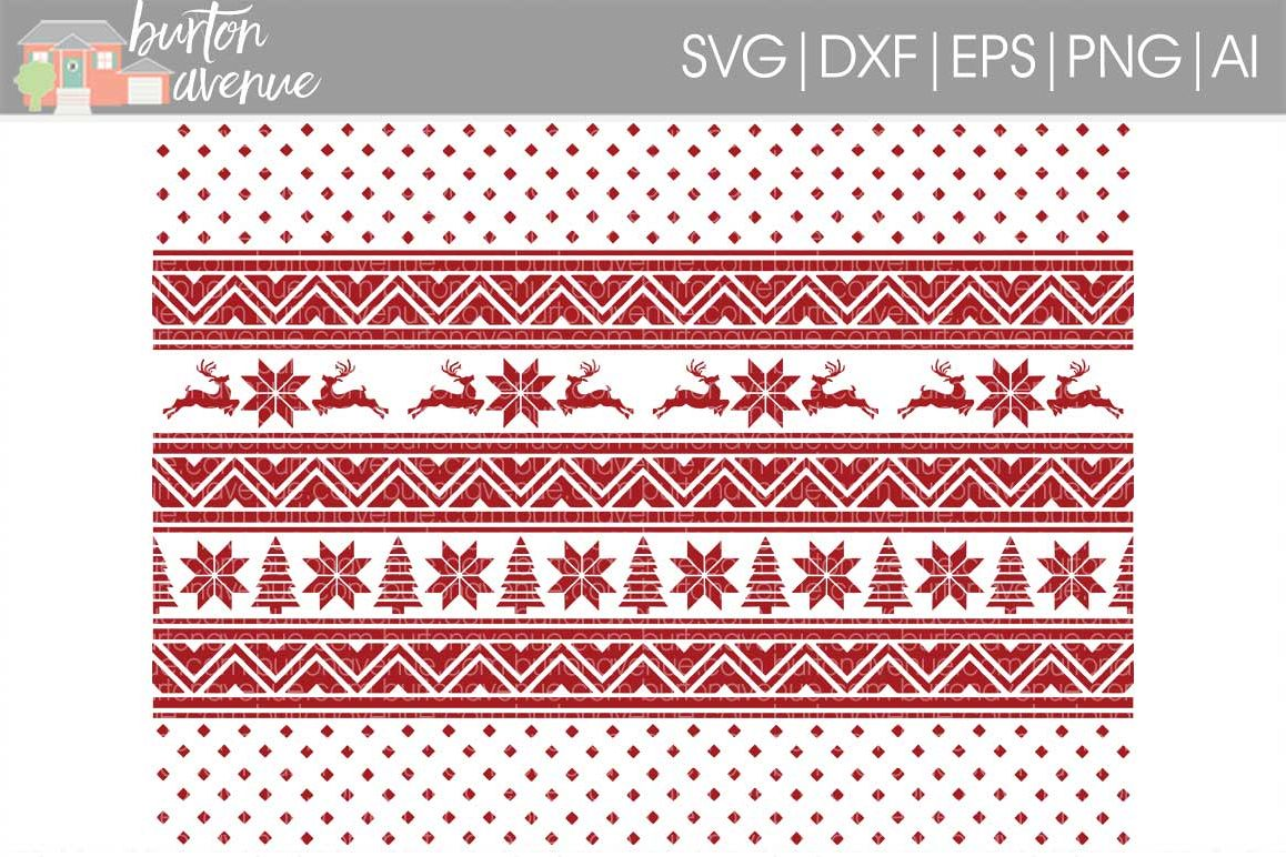 Christmas Sweater Background.Christmas Sweater Background Cut File Svg Dxf Eps Ai Png