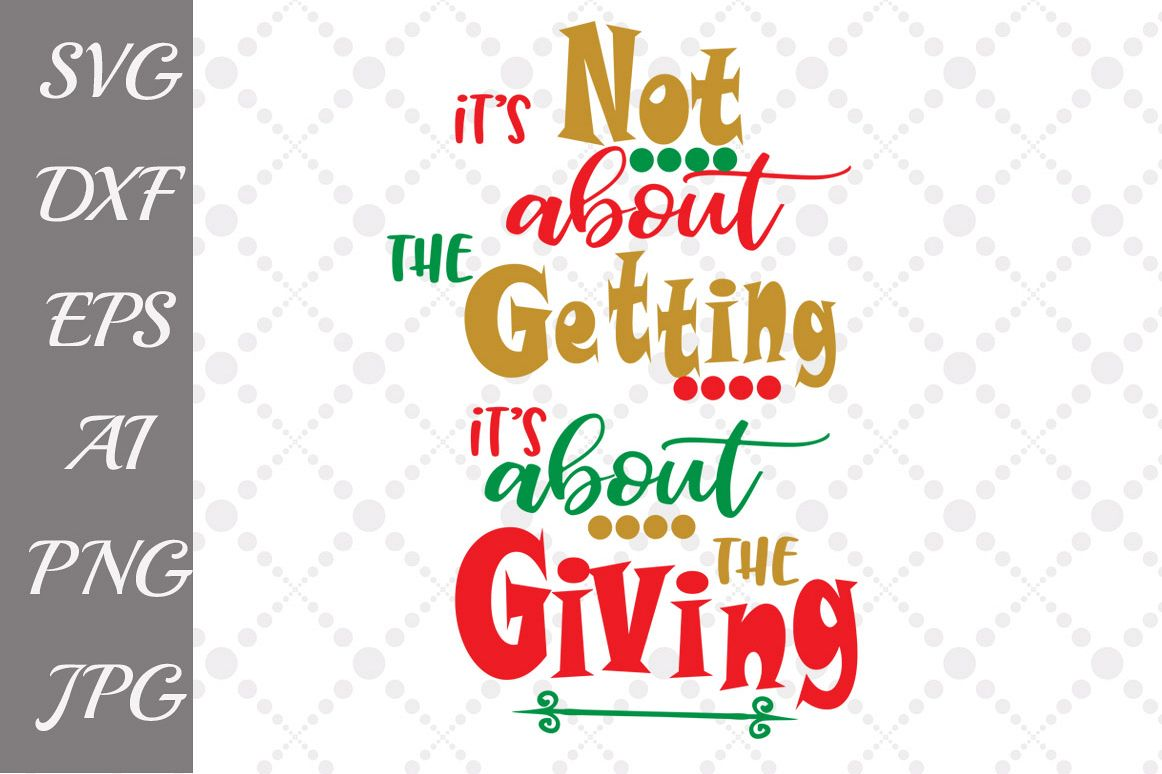 CHRISTMAS QUOTE SVG example image 1