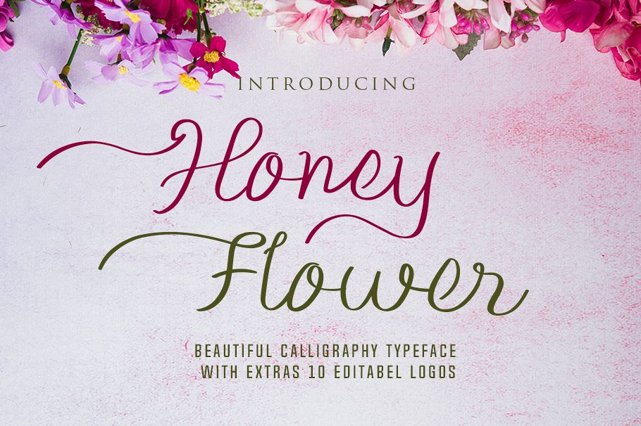 Honey FLower example image 1