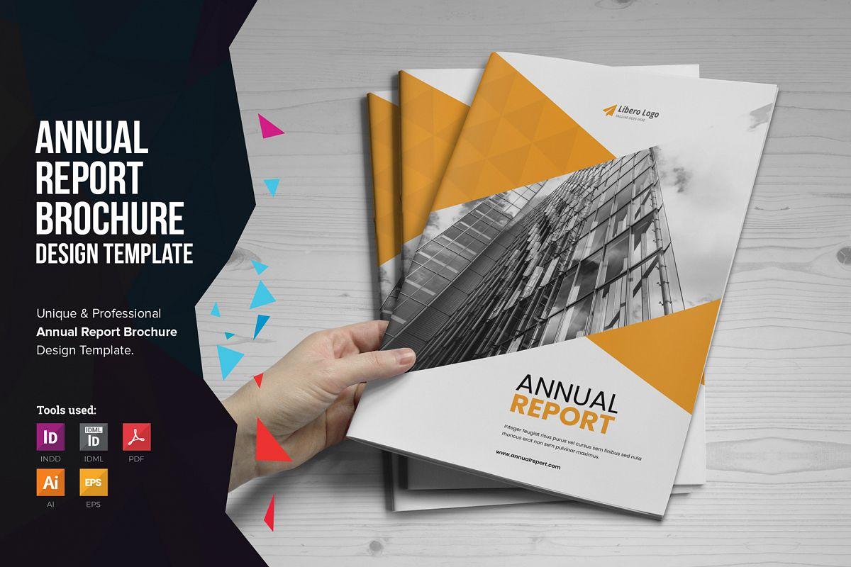 Annual Report Design v6 example image 1