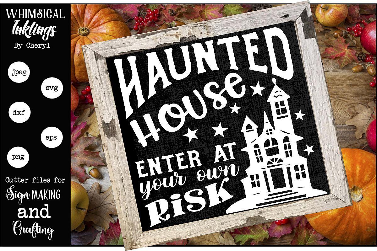 Haunted House 2-Halloween SVG