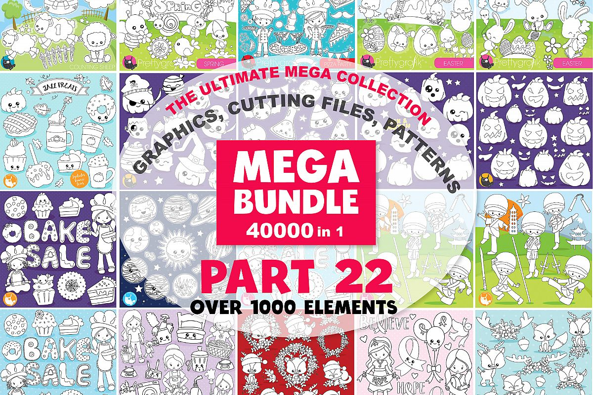 MEGA BUNDLE PART22 - 40000 in 1 Full Collection example image 1