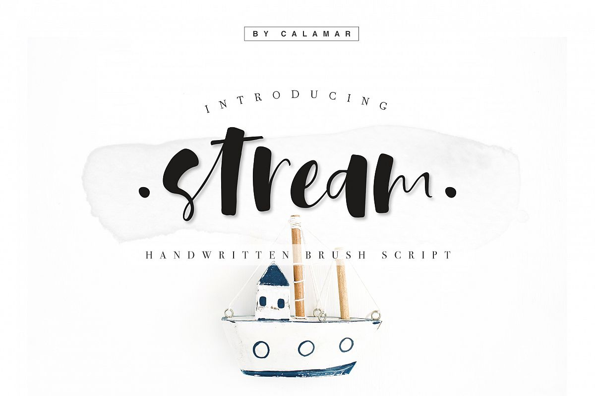 Stream Font example image 1