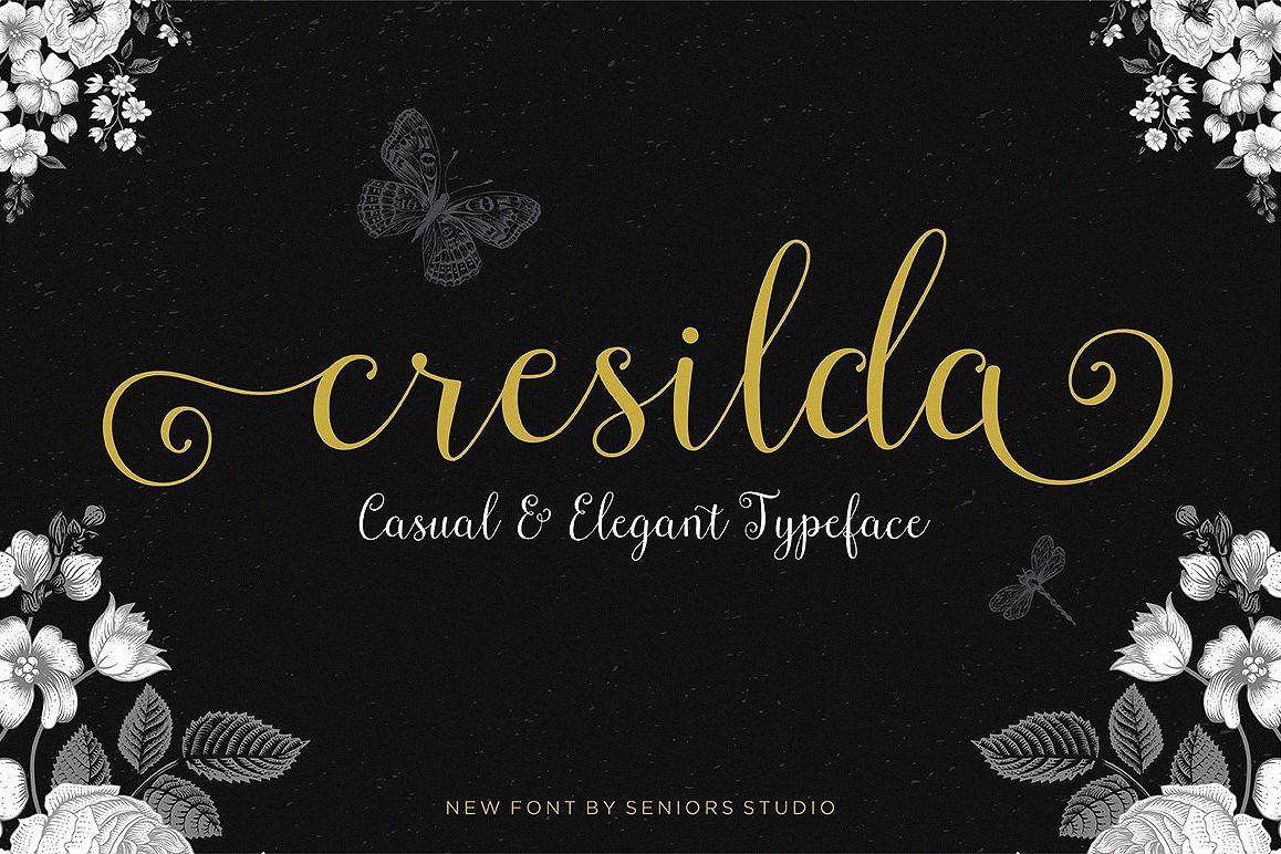 Cresilda Script example image 1