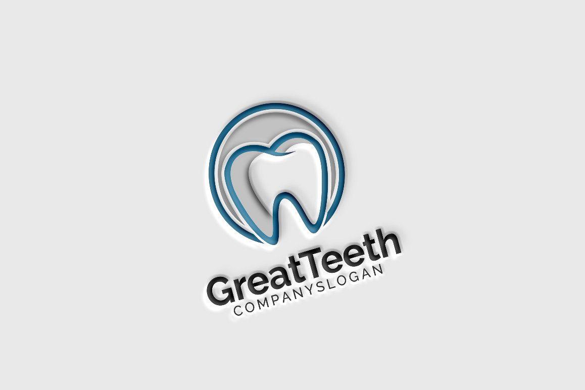 Great Teeth Dental Logo example image 1