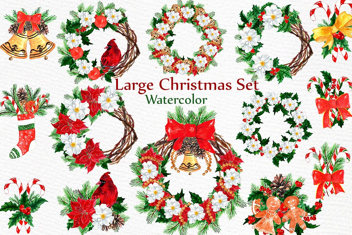 Christmas Clipart Collection example image 1