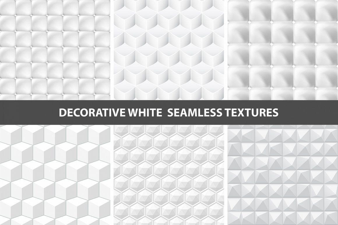 White seamless textures example image 1