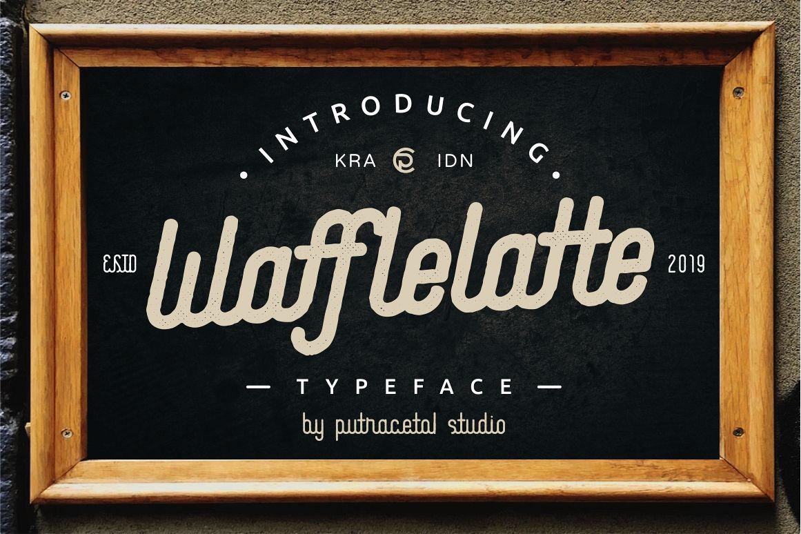Waffle Latte example image 1