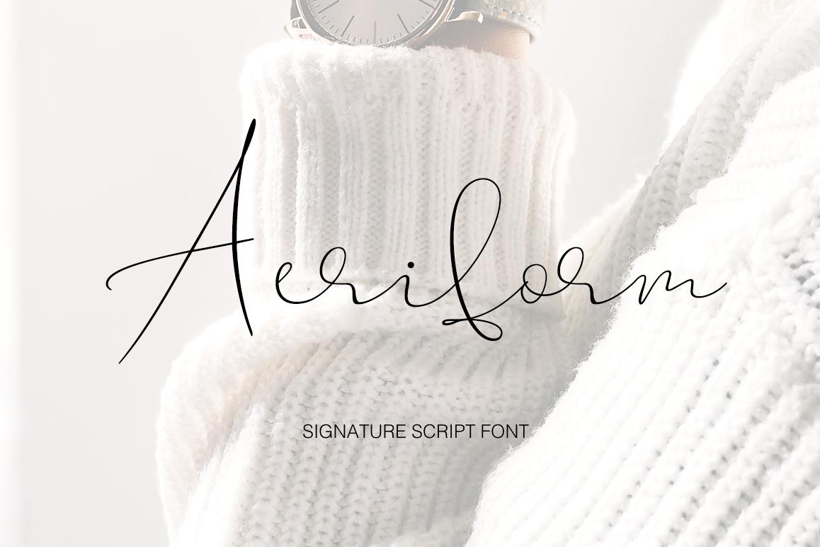 Aeriform example image 1