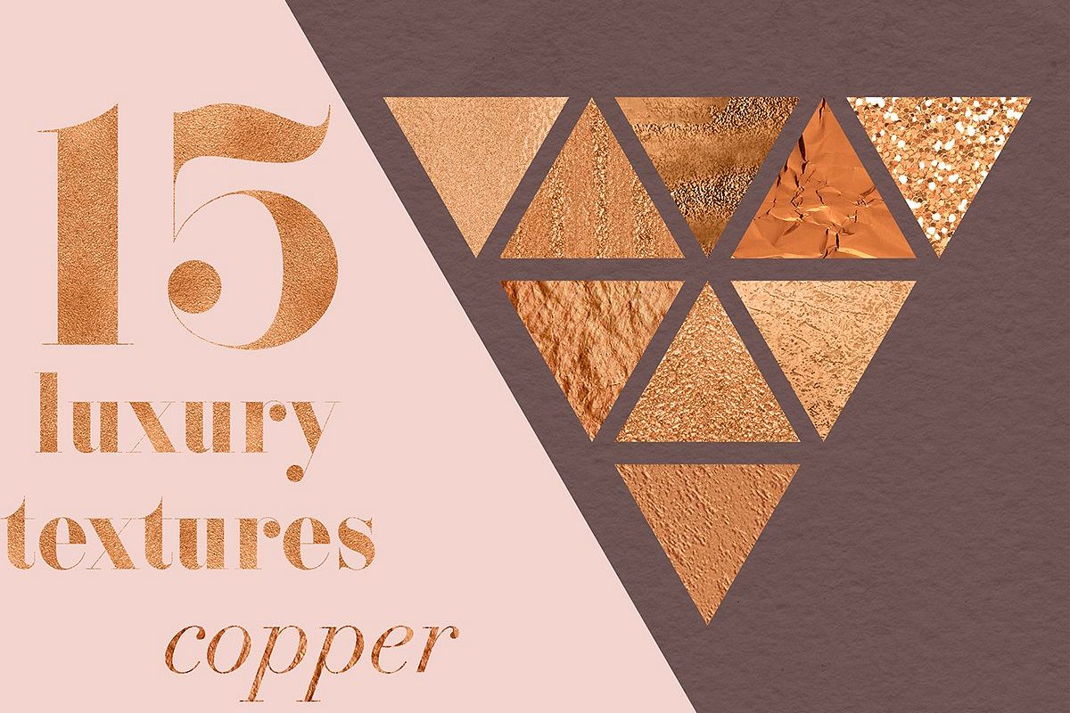 Luxury Copper Textures example image 1