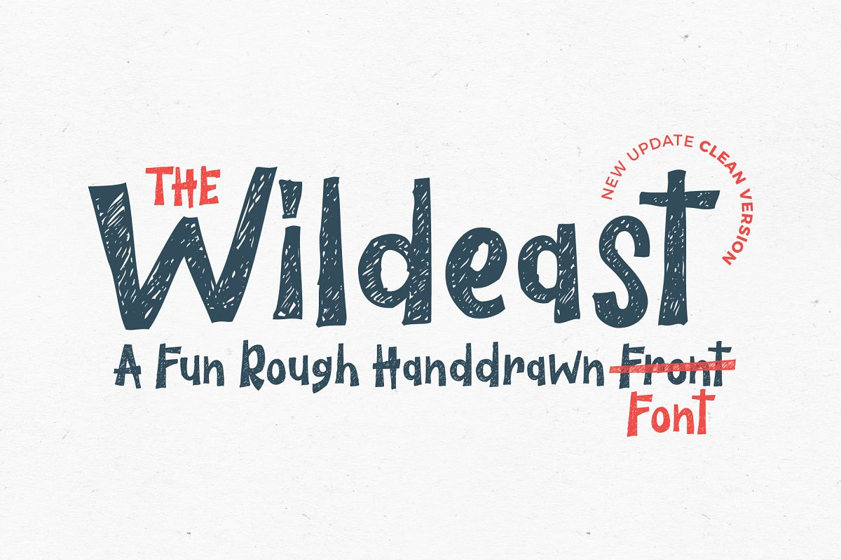 The Wildeast Font example image 1