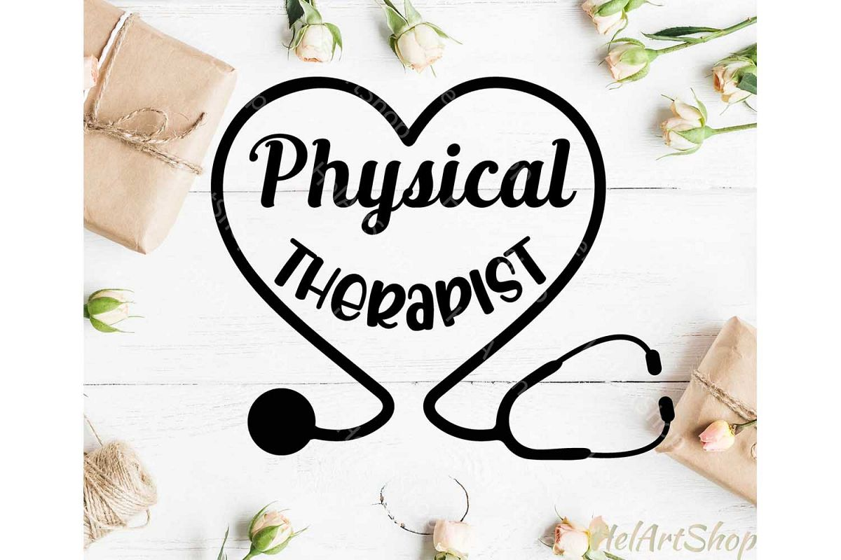 Physical Therapist svg example image 1
