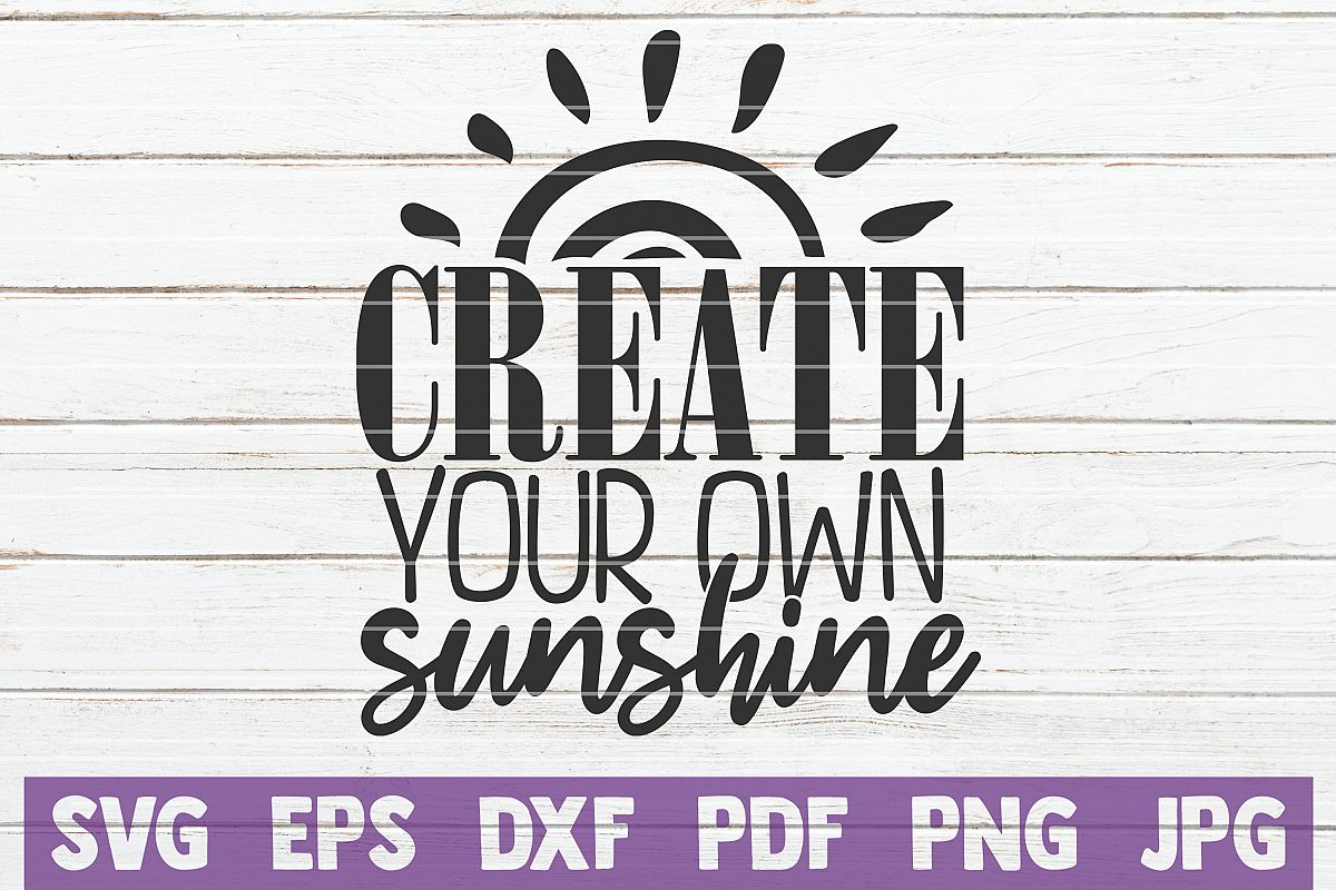 Create Your Own Sunshine SVG Cut File example image 1