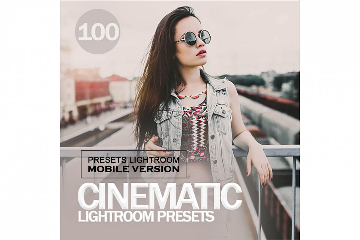 Cinematic Lightroom Mobile Presets example image 1