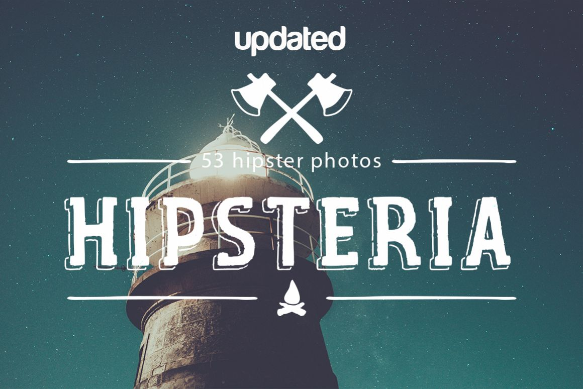 Hipsteria I and II packs example image 1