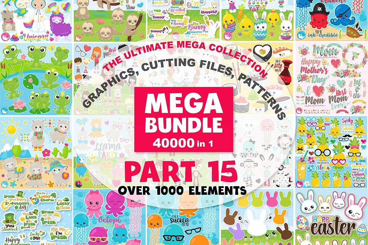 MEGA BUNDLE PART15 - 40000 in 1 Full Collection example image 1