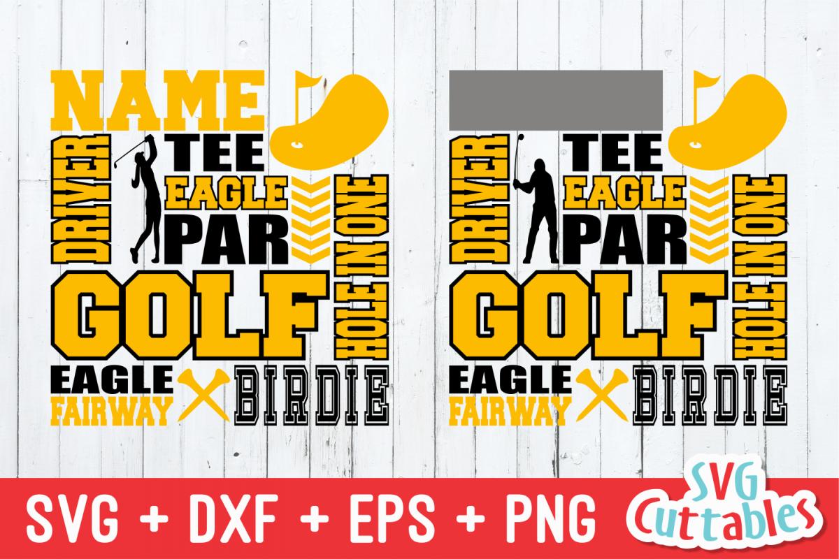 Golf svg, Golf Subway Art svg cut file example image 1