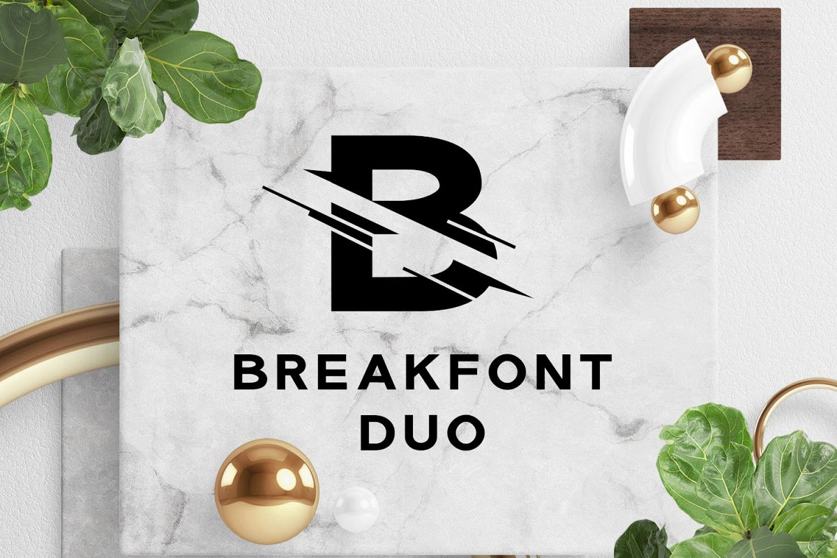 Break Font Duo example image 1