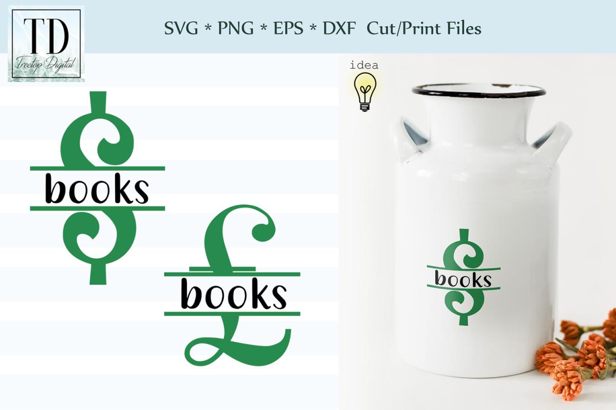 Saving for Books Bank Design, Savings Series, SVG example image 1