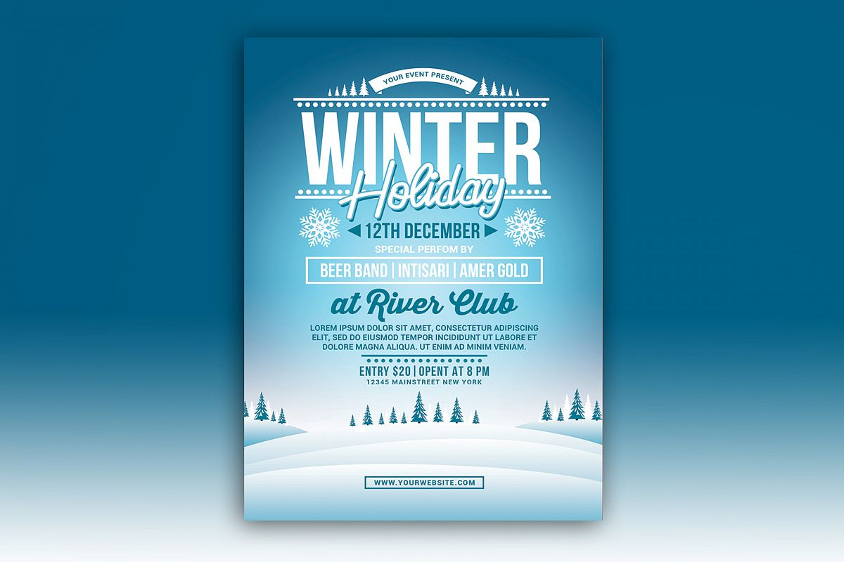 Winter Holiday Party example image 1