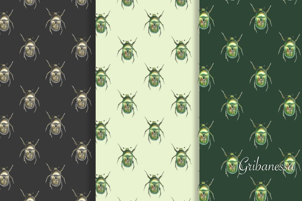 Patterns with beetles example image 1